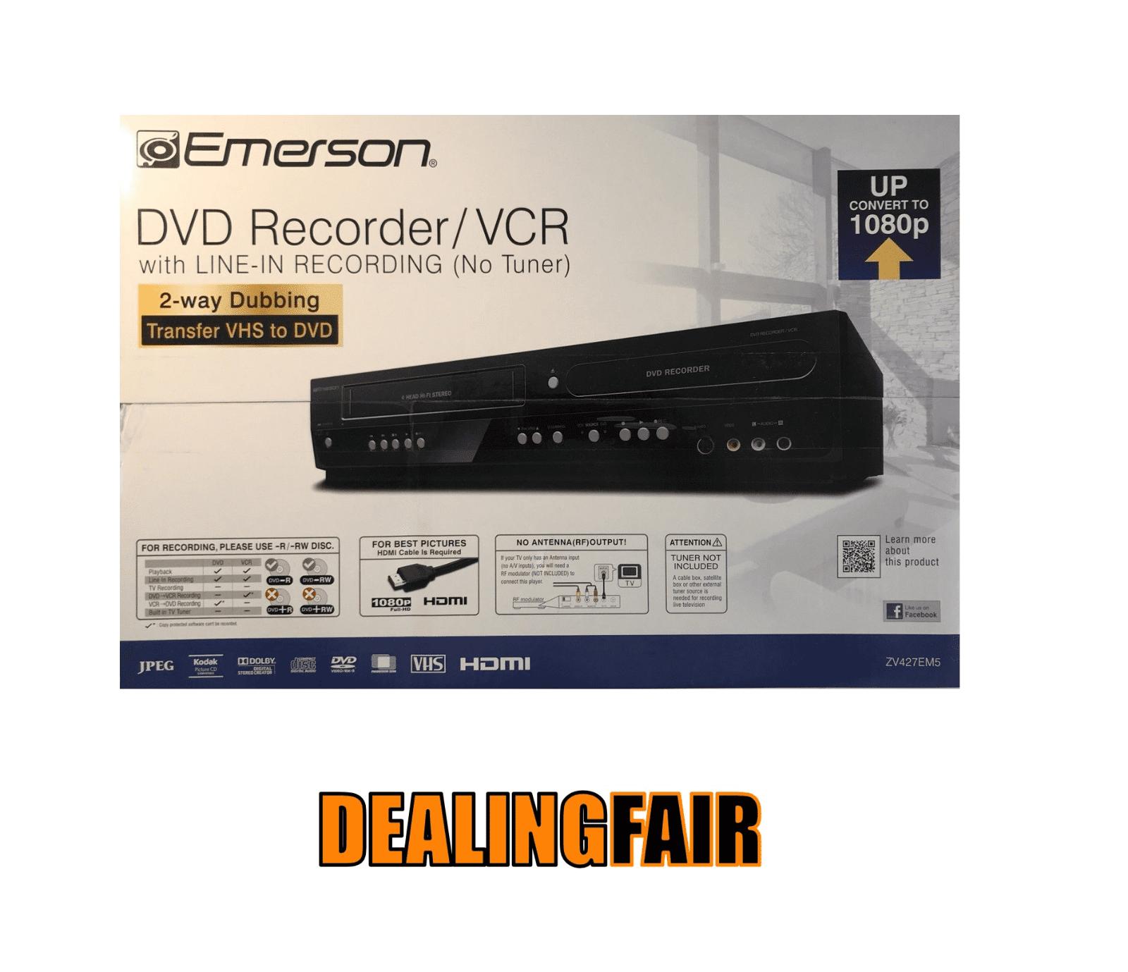 Emerson VCR aggancio