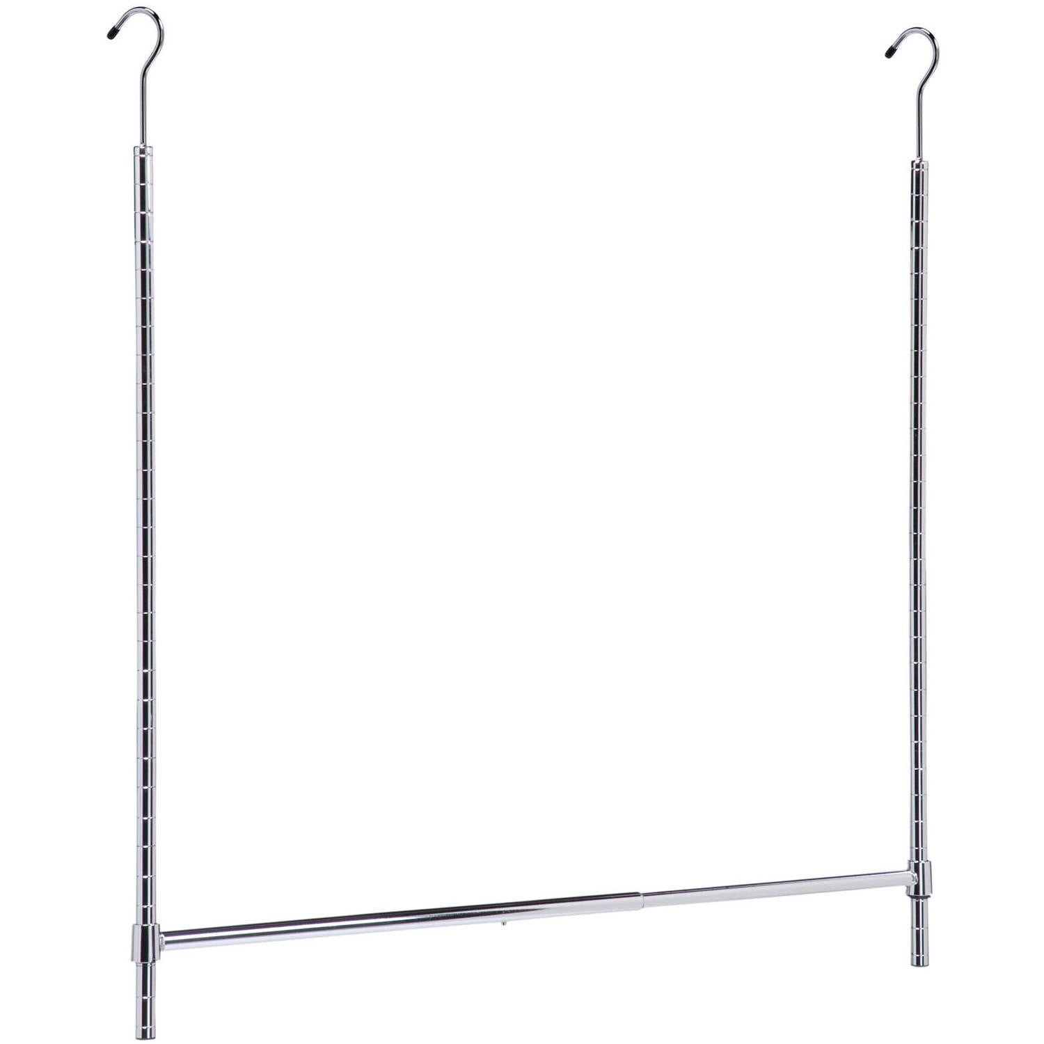 Honey Can Do Adjustable Hanging Closet Rod, Chrome   Walmart.com