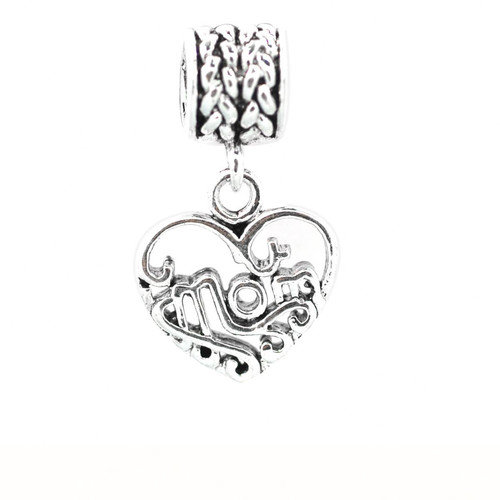DeBuman MOM Dangle Fashion Bead Charm