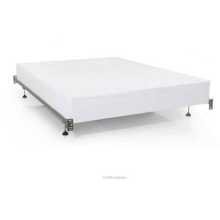 Linenspa Zippered Box Spring Encasement Protector, Multiple Sizes ()