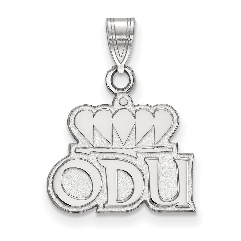 18 Sterling Silver Old Dominion University Small Pendant w//Necklace by LogoArt