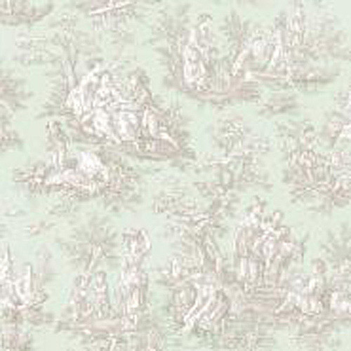 York Wallcoverings Waverly Country Life 33' x 20.5'' Toile Wallpaper Roll