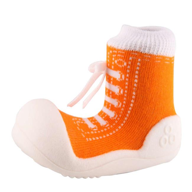 Attipas AS04-S Sneakers Shoes US 3. 5, Orange - Small