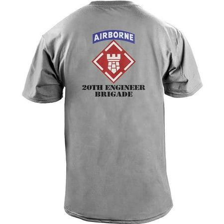 Army 20th Engineer Brigade Veteran Full Color T-Shirt