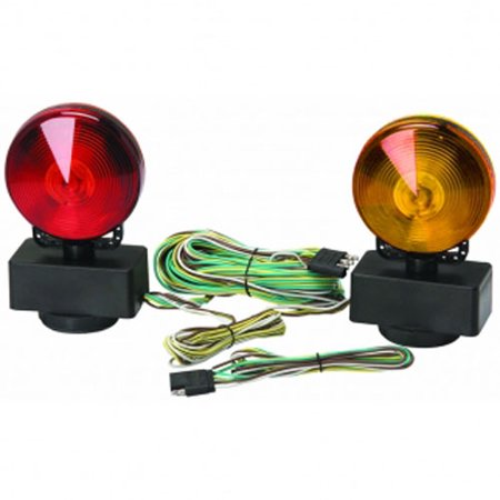 Trailer Light Kit Magnetic Lights 12 Volt Towing Tow Hauling (Magnetic Trailer)