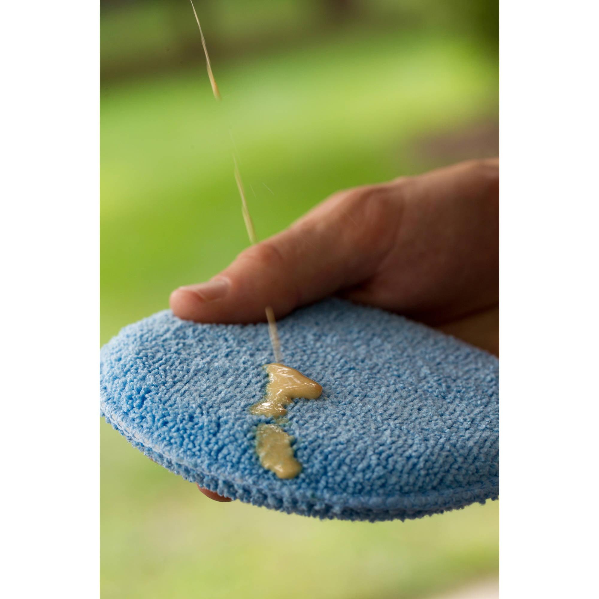 Viking microfiber detailing applicator pads blue 6 pack walmart com