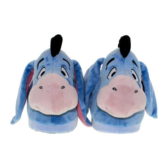 b648369e66a5 Happy Feet - 7013-1 - Disney Winnie the Pooh - Eeyore Slippers - Small -  Happy Feet Mens and Womens Slippers - Walmart.com