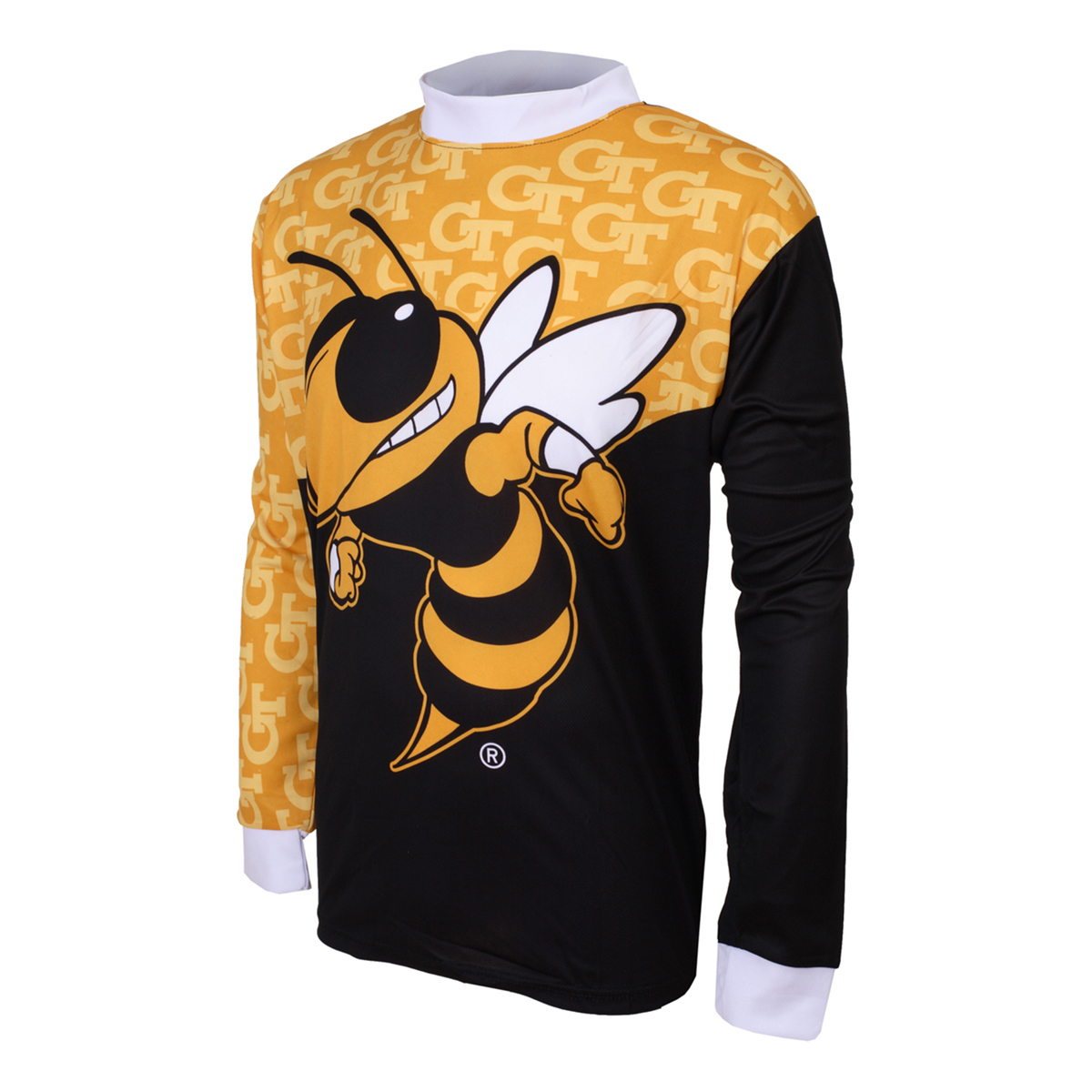 Adrenaline Promotions Georgia Tech Buzz Long Sleeve Mountain Bike Jersey