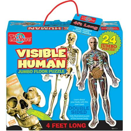 T S Shure Visible Human Jumbo Floor Puzzle Walmart Com