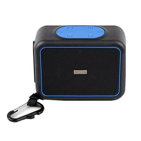 iHome iBT35 Rugged Portable Waterproof Bluetooth Stereo Speaker with Speakerphone