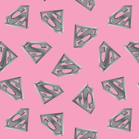 Supergirl pink heavenly plush fleece fabric by the yard for Celestial fleece fabric