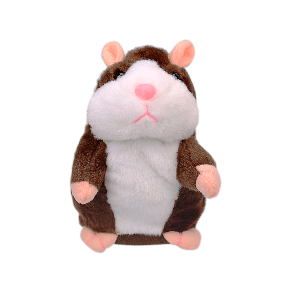 Adorable Interesting Speak Talking Record Hamster Mouse Plush Kids Toys Gift New