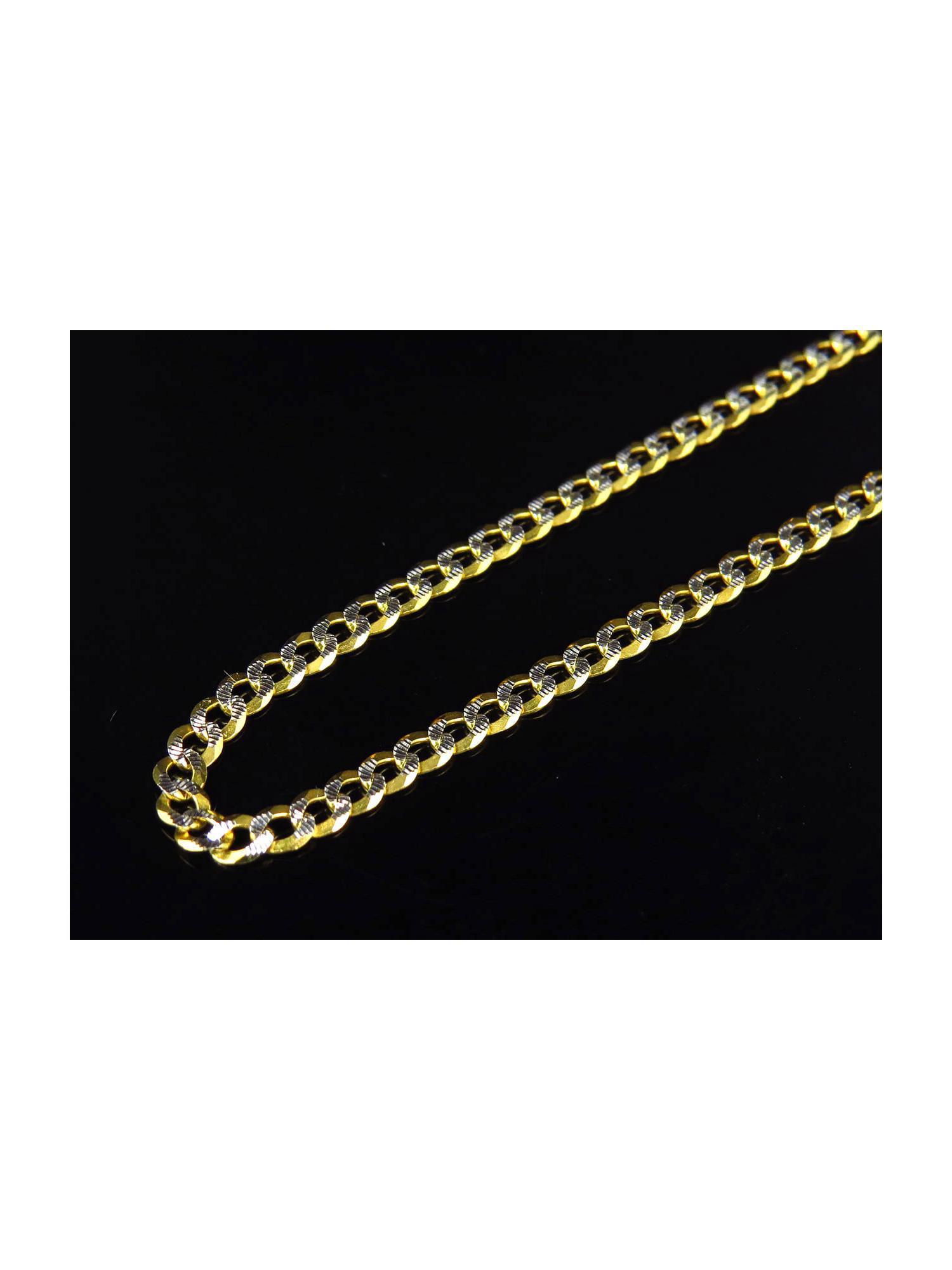 GWOOD Black Girls Rock 18 Inch Link Style Necklace Medium Gold Color
