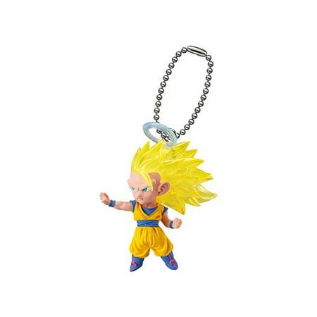 Dragon Ball Super UDM The Best 17 Super Saiyan 3 Goku Figure Keychain