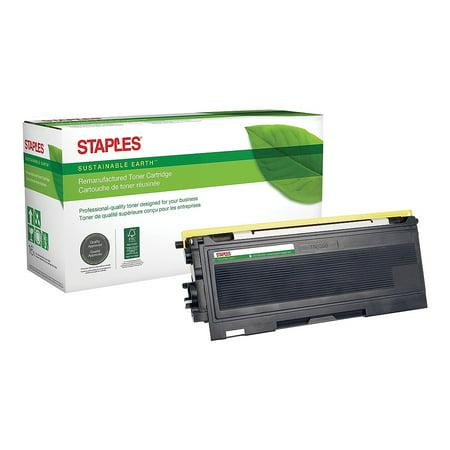 Staples Remanufactured Laser Toner Cartridge Brother TN350 (TN-350) Black
