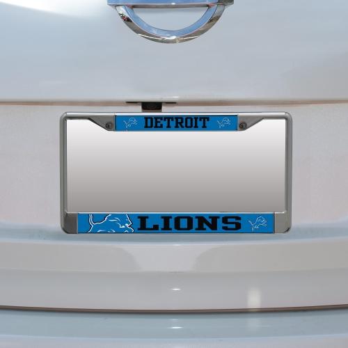 Detroit Lions Small Over Large Mega License Plate Frame - No Size