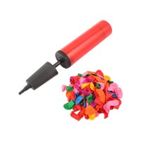 Unique Bargains Weeding Party 100 PCS Latex Balloons w Pump Inflator