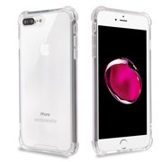 Apple iPhone 6 /6S PLUS Phone Case Clear Shockproof Hybrid Bumper Gummy Rubber Silicone Gel Shock Absorption Cover Highly Transparent Clear Phone Case Cover for Apple iPhone 6S Plus, iPhone 6 PLUS