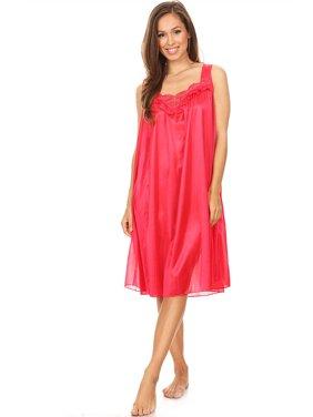 1890749b9e Product Image 9006 Women Nightgown Sleepwear Pajamas Woman Sleep Dress  Nightshirt Green M. Lati Fashion