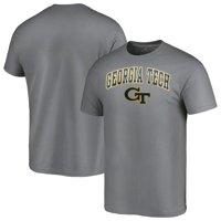GA Tech Yellow Jackets Fanatics Branded Campus T-Shirt - Charcoal