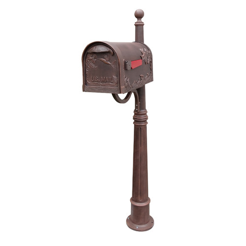 Special Lite Products Hummingbird Mailbox with Post Included by Special Lite Products Company