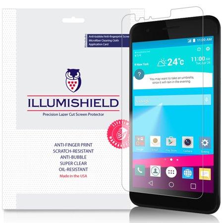 3x iLLumiShield Screen Protector Anti-Bubble for LG K30 (LG Premier Pro LTE)