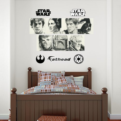 Fathead Star Wars Sketches Collection