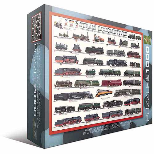 EuroGraphics Steam Locomotives Puzzle
