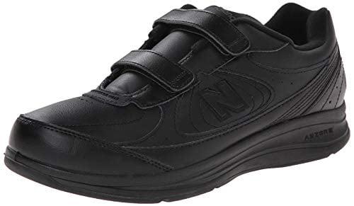 MW577 Hook and Loop Walking Shoe, Black