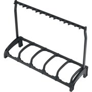 K&M 17515.016.55 Guardian Five Guitar Stand Rack-style (5 Guitars) Black