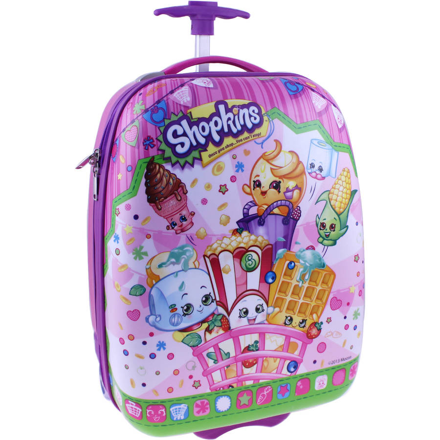 "Shopkins 16"" ABS Rolling Luggage"