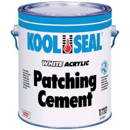 - Kool Seal 61-220-1 White Acrylic Patching Cement-GAL WHT RF PATCH CEMENT