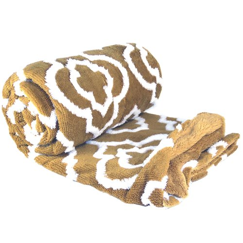 BOON Throw & Blanket Jacquard Sherpa Throw Blanket