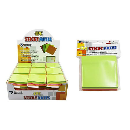 Diamond Visions 11-1683 MultiColor Sticky Note Set MultiPack (800 Sticky Notes)