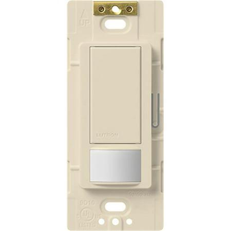 Occupancy Sensing Light Switches (LUTRON ELECTRONICS INC Maestro Sensor Switch, Large Room/Fan Occupancy, Light Almond MS-OPS5MH-LA )