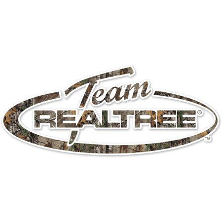 "Team Realtree Logo Die Cut Decal, 2"" x 6"""