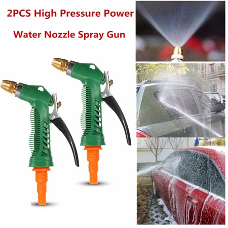 Garden Water Guns Watering & Irrigation Car High Pressure Power Water Gun Garden Washer Nozzle Spray Cleaning Tool Volume Large