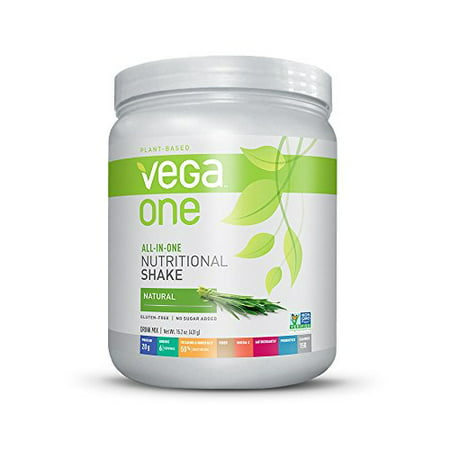 Vega One All-In-One Plant Based Protein Powder, Natural, 0.95 lb, 10 Servings ()