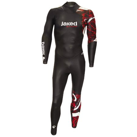 Jake Suit (JAKED Men's 2.5mm Triathalon Wetsuit,)