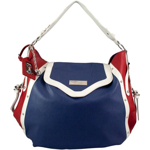 NFL - New England Patriots Suite Team by Nikki Chu Hobo Handbag