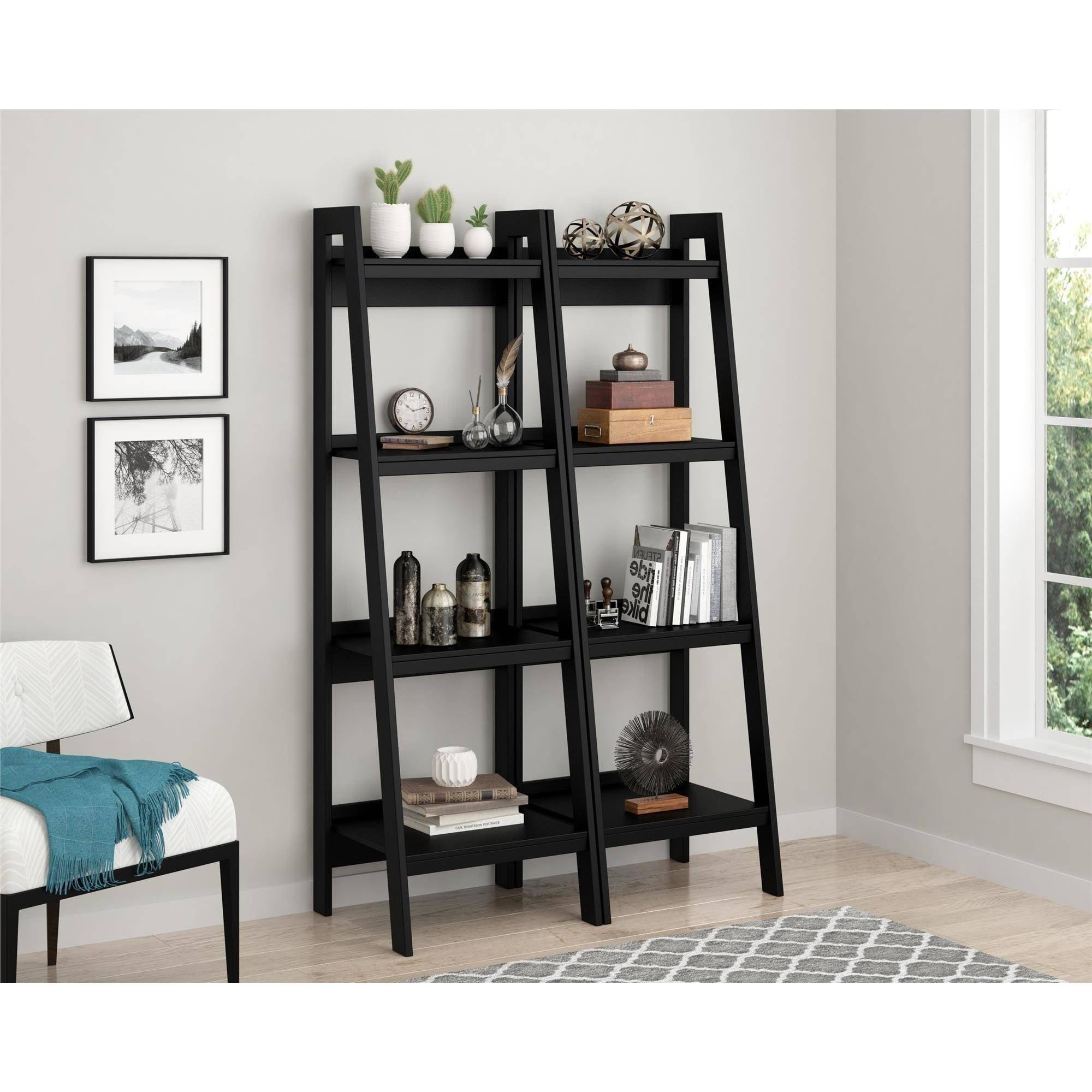 Design Ladder Bookcase delta children gateway ladder shelf choose your finish walmart com