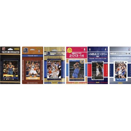 C Collectables Nba Dallas Mavericks 6 Different Licensed Trading Card Team Sets