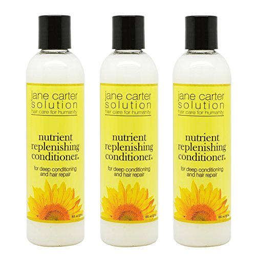 """Jane Carter Solution Nutrient Replenishing Conditioner 8oz """"Pack of 3"""""""