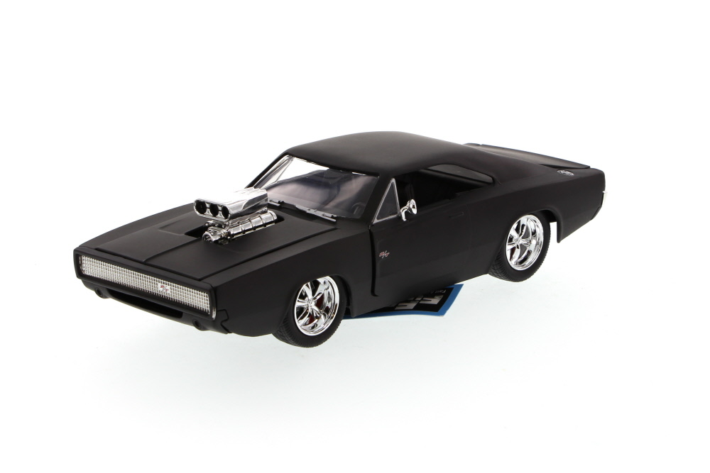 Dom's 1970 Dodge Charger R T, Matte Black Jada Toys Fast & Furious 97175 1 24 scale... by Jada