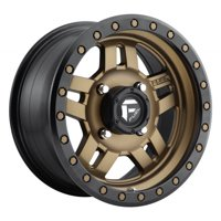 Fuel Anza 14x7 ATV/UTV Wheel - Bronze (4/156) 4+3 [D5831470A544]