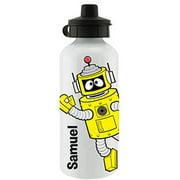 Personalized Yo Gabba Gabba! Plex White Sports Bottle