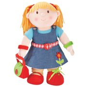 Dress Up Girl Doll by One Step Ahead - Basic Skills Learning Toy - For Toddlers Ages 12 Months and Up