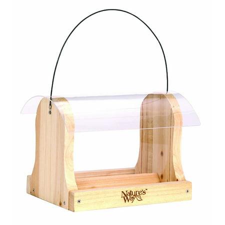 Way Hopper - Nature's Way CWF15 4 qt Cedar Hopper Feeder