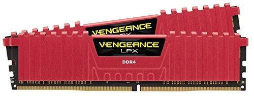 CORSAIR Vengeance LPX 16GB (2 x 8GB) 288-Pin DDR4 SDRAM  3000 (PC4 24000) Desktop Memory CMK16GX4M2B3000C15R