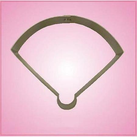 Cheap Baseball (Baseball Field Cookie Cutter)